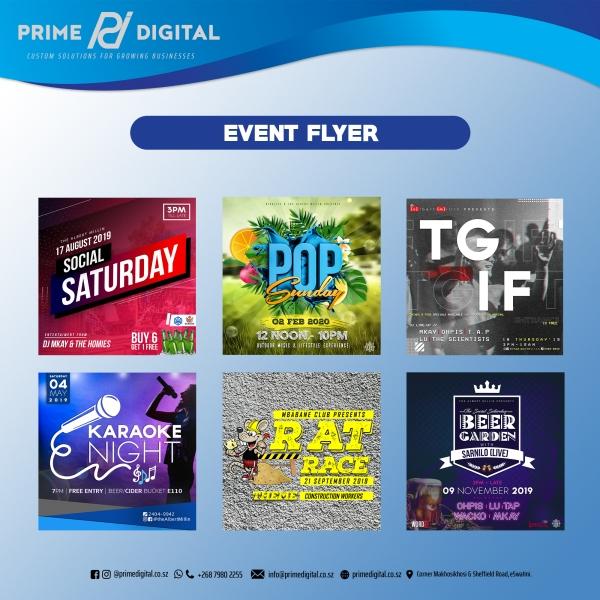 Prime Digital Event Flyer Design